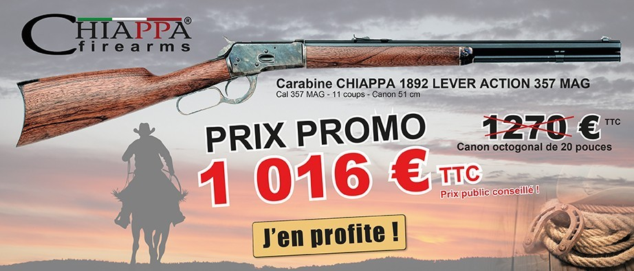 PROMO CHIAPPA 1892 LEVER ACTION 357 MAG - CANON OCTOGONAL