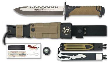 Photo Couteau droit de survie K25 Thunder II