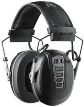 Photo Casque électronique cadence noir - Browning