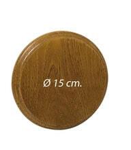 Photo Oak badge for sandstone and wild boar tusks