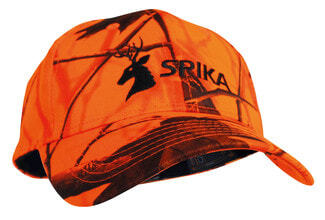 Photo Orange high visibility cap