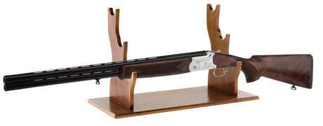 Photo Wooden rifle holder