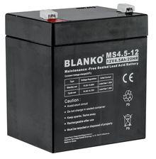 Photo Batterie rechargeable MS4,5-12 12 volts pour agrainoir gamme feeder