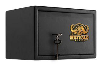 Photo Coffre premium pour armes de poing à clef - Buffalo River