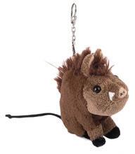 Photo Plush keychain wild boar