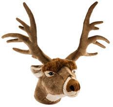 Photo Plush Trophy Deer Head