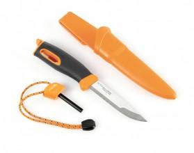 Photo Swedish Light My Fire Bio Plastic survival knife with fire lighter