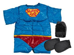 Photo SUMO Fighter - Kit de 2 costumes de sumo enfant super héros