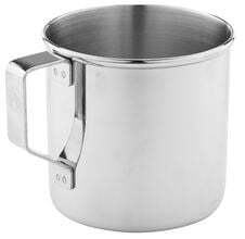 Photo Stainless steel cup