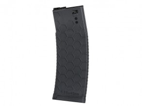 Photo Long Hexmag 150 rounds mid-cap mag for M4 black