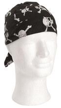 Photo Scarf - skull bandanna