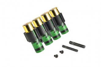 Photo Tactical Shell Holder with 4 shells for Fabarm STF12 Airsoft version