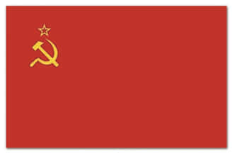 Photo Drapeau de l'URSS