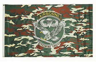 Photo US Airborn flag