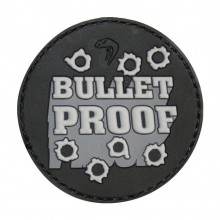 Photo PVC Morale Patch Bullet Proof