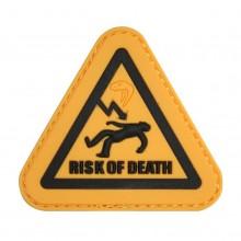 Photo PVC Morale Patch Risk of Death
