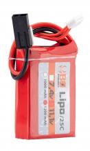 Photo 1 stick batterie Lipo 3S 11.1V 1200mAh 25C