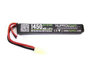 Photo LiPo battery stick 7.4 v / 1450 mAh 30C