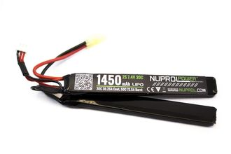 Photo Batterie LiPo 2 éléments 7,4 v/1450 mAh 30C