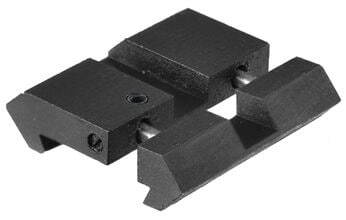 Photo Set of 2 adapters for rails 11 mm - 21 mm