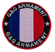 Photo Circular patch France G & G armament flag patch velcro