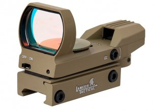 Photo Tan 4 reticles red / green dot Reflex sight