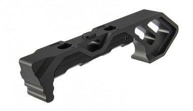 Photo Angle Grip Skeleton Speed Aluminium M-LOK / Keymod noir
