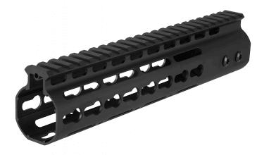 Photo N type Keymod Aluminium 9' hand guard Black
