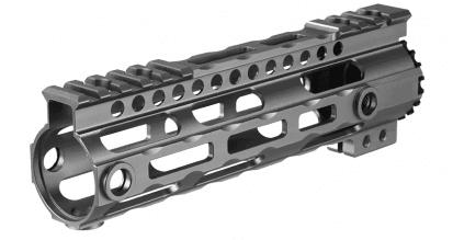 Photo Lightweight Aluminium CNC Free Floating 7' Grey