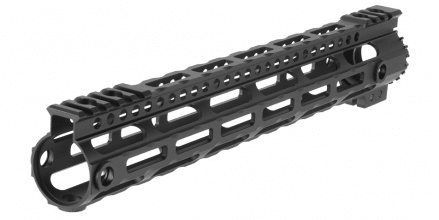 "Photo Lightweight Aluminium CNC Free Floating 12,5"" hand guard Black"
