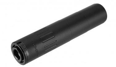 Photo QD Steel suppressor + M4 flash hider black