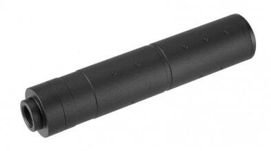 Photo 155mm Aluminium Dot Mock Suppressor Black