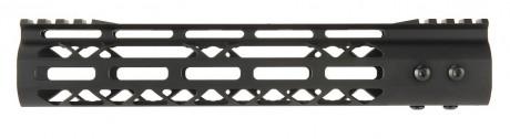 Photo Aluminium Speed Skeleton M-LOK 10' hand guard Black