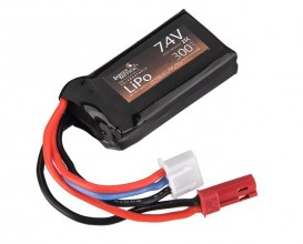 Photo 7,4V 300MaH 25C HPA Lipo battery