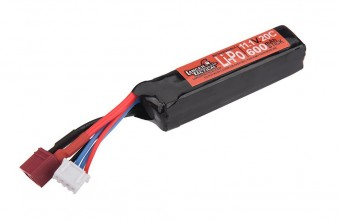 Photo 1 micro stick batterie Lipo  11,1V 600mAh 20C special PDW