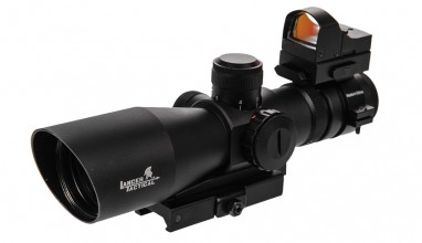 Photo 3-9x42 Red & Green scope + 1x30 red dot sight