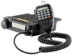 Photo On-board vehicle station - VHF transmitter CRT 2 M
