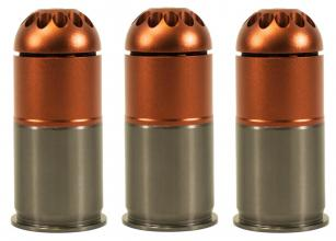 Photo Pack of 3 gas grenades 96 bbs m203 - NUPROL