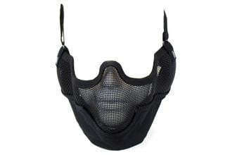 Photo Bottom of mask shield v2 shield - Black