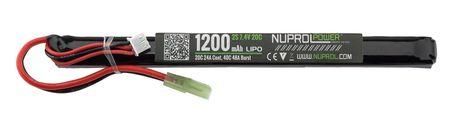 Photo LiPo battery 7.4 v 1200mah slim stick 20c