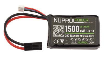 Photo 7.4V / 1500 mAh micro LiPo battery