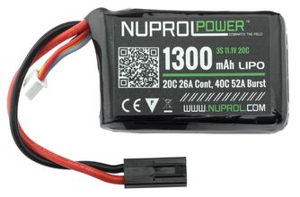 Photo 11.1V / 1300 mAh micro LiPo battery