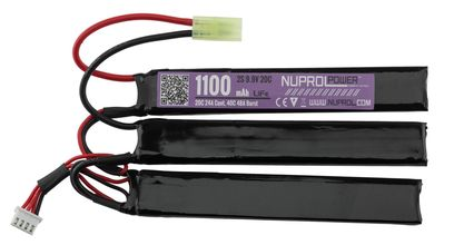 Photo Li-Fe Power Battery 9.9v 1100mah 20c nunchunck
