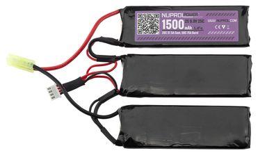 Photo Li-Fe power battery 9.9 v 1500mh 25c nunchunck