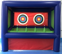 Photo Swap Archery Target Inflatable Stand