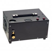 Photo Compresseur 12 Volts 300 bars / 4500 PSI HPA PCP électrique 1L