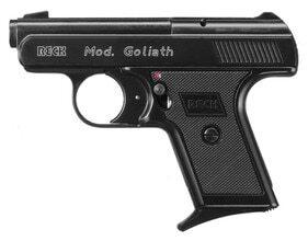 Photo Pistolet 9 mm à blanc Reck Goliath noir