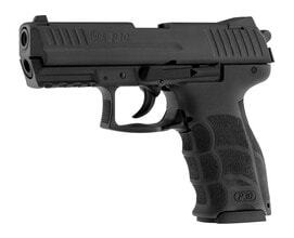 Photo Pistolet 9 mm à blanc HK P30 noir