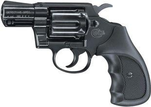 Photo Revolver 9 mm à blanc Umarex Colt Détective Spécial bronzé