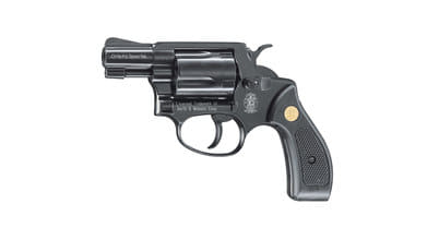 Photo Revolver 9 mm Smith & Wesson Chiefs White Special